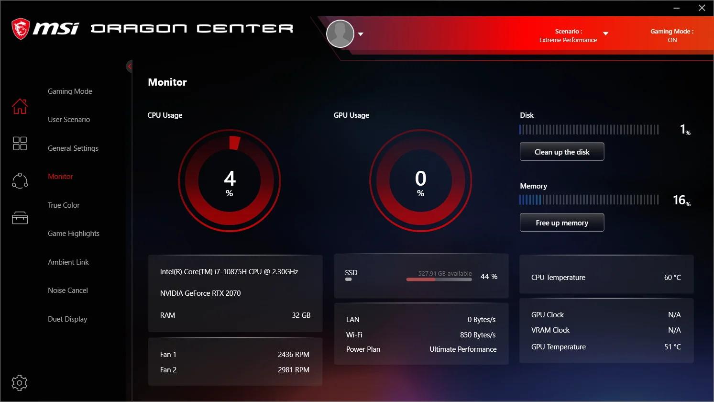 MSI Dragon Center jpg