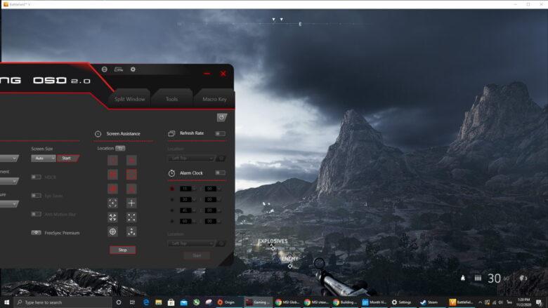 MSI Gaming OSD 15
