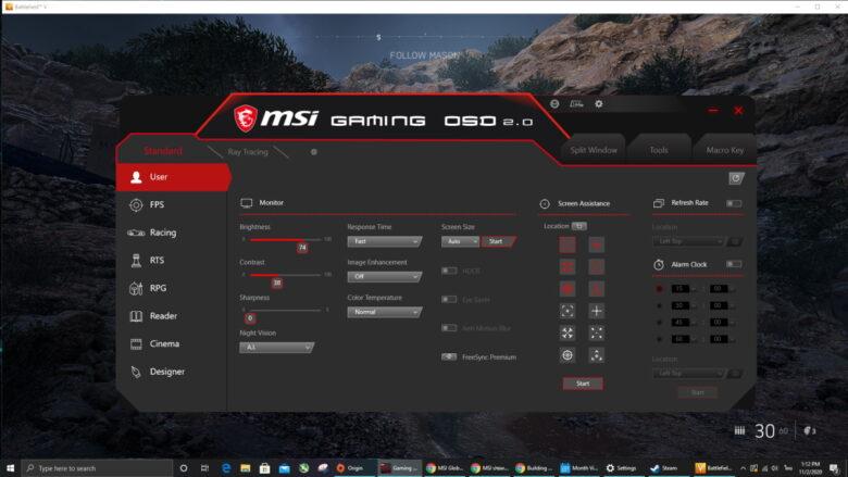 MSI Gaming OSD 3