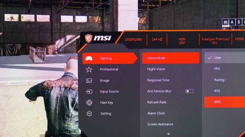 MSI OPTIX MAG274R test 6