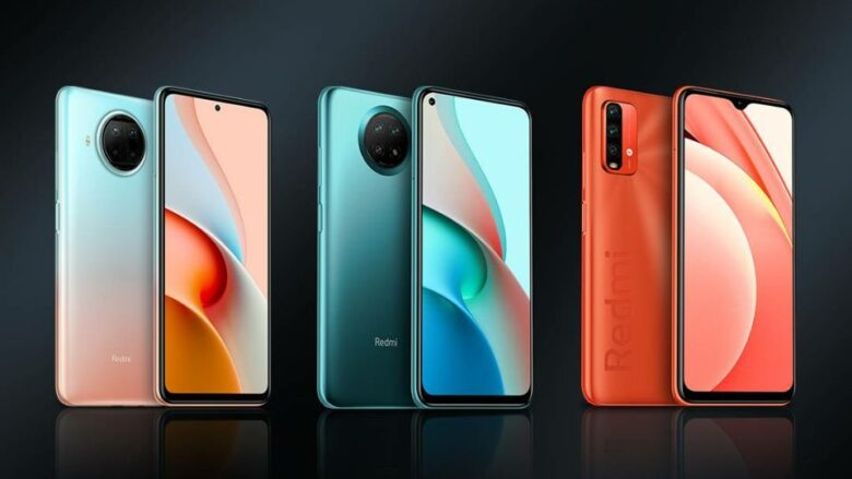 Redmi Note 9 end 2020 series