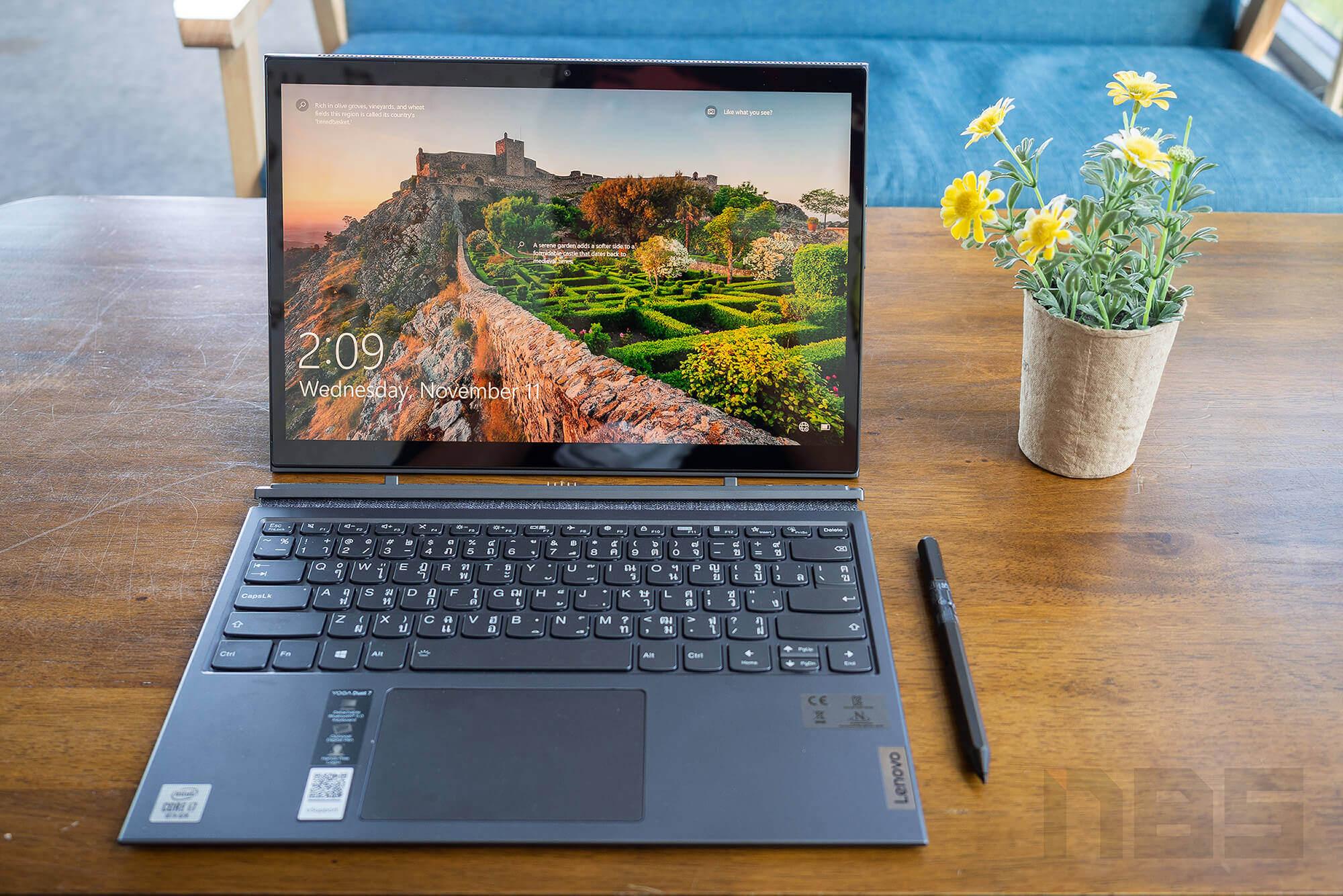Review Lenovo YOGA Duet 7i NotebookSPEC 17