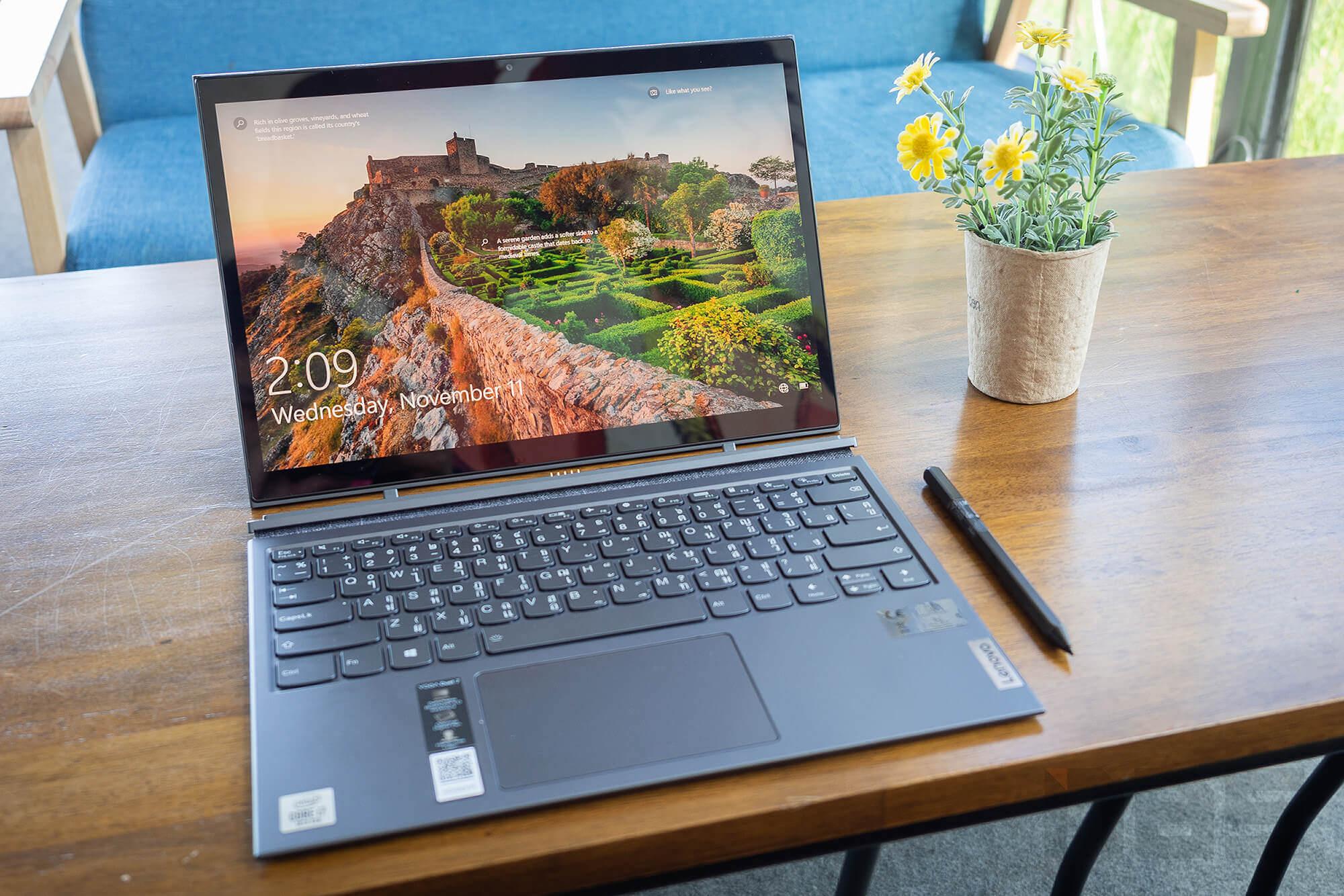 Review Lenovo YOGA Duet 7i NotebookSPEC 18