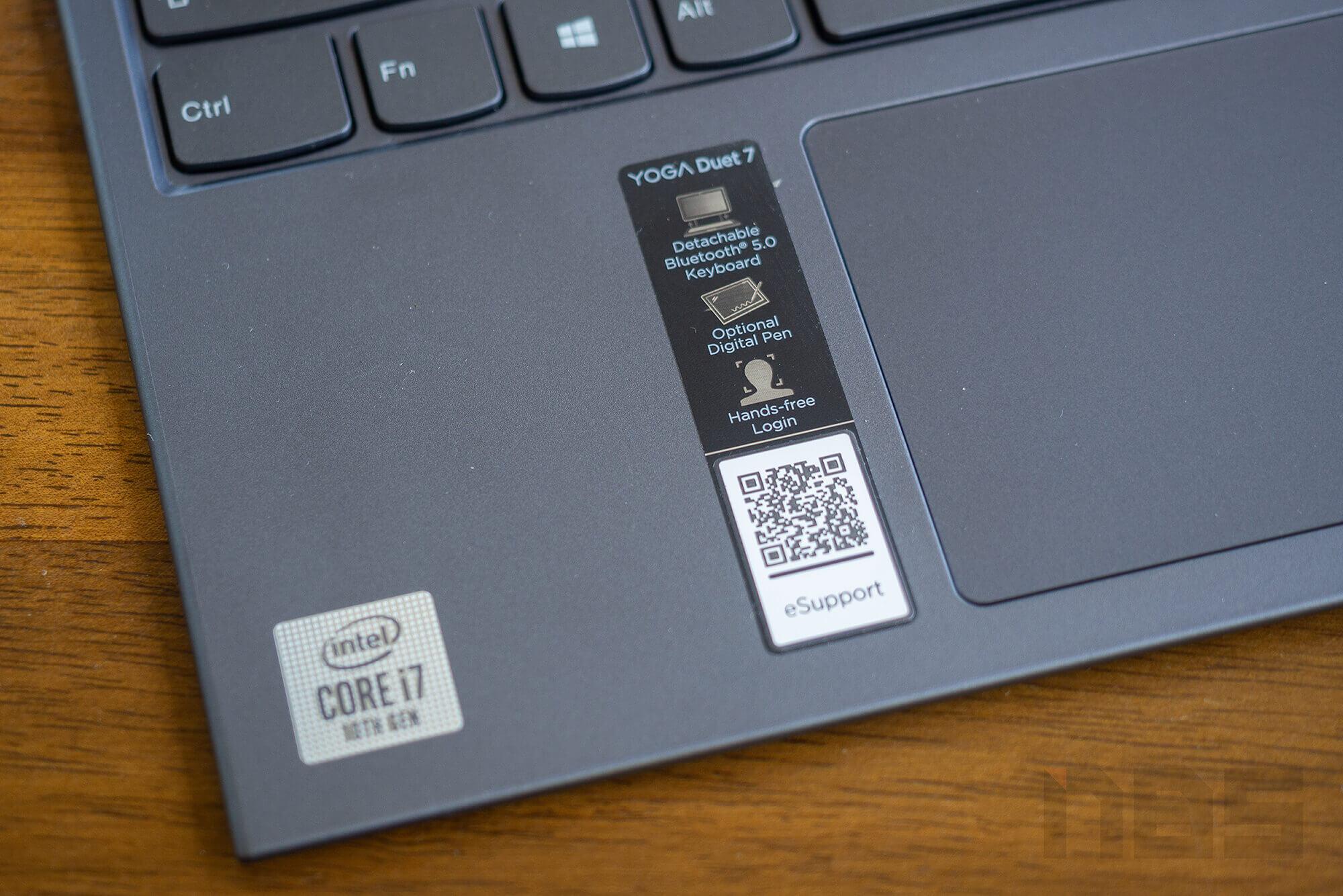 Review Lenovo YOGA Duet 7i NotebookSPEC 23