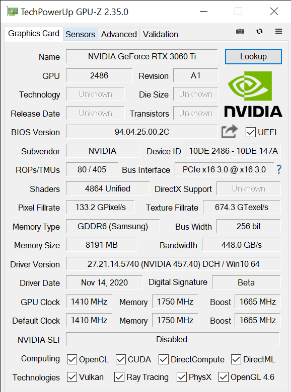 TechPowerUp GPU Z 2.35.0 11 24 2020 11 01 16 AM