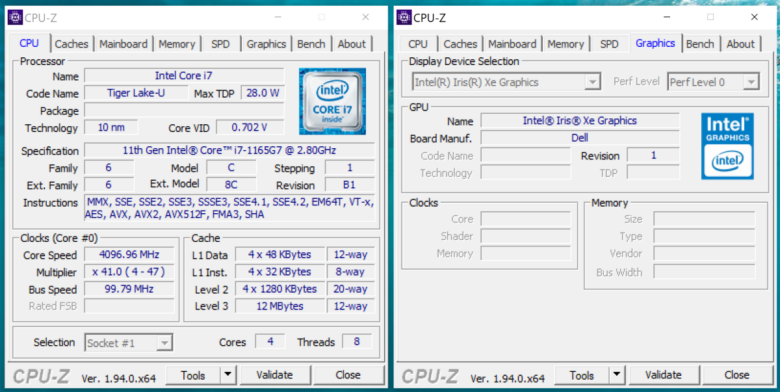 Test Dell XPS 13 9310 4