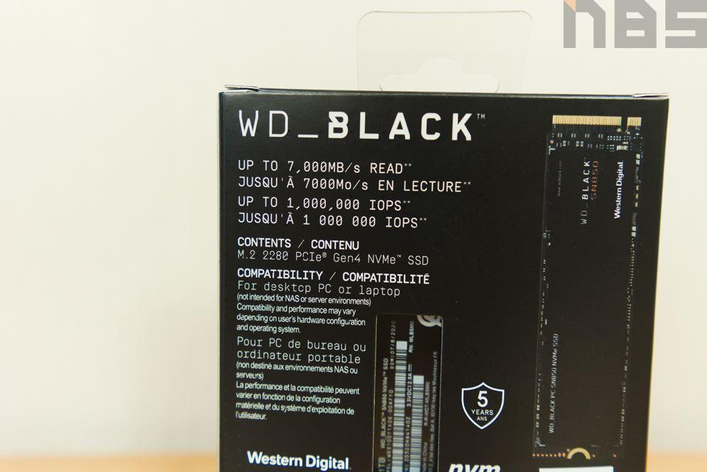 WD BLACK SN850 018