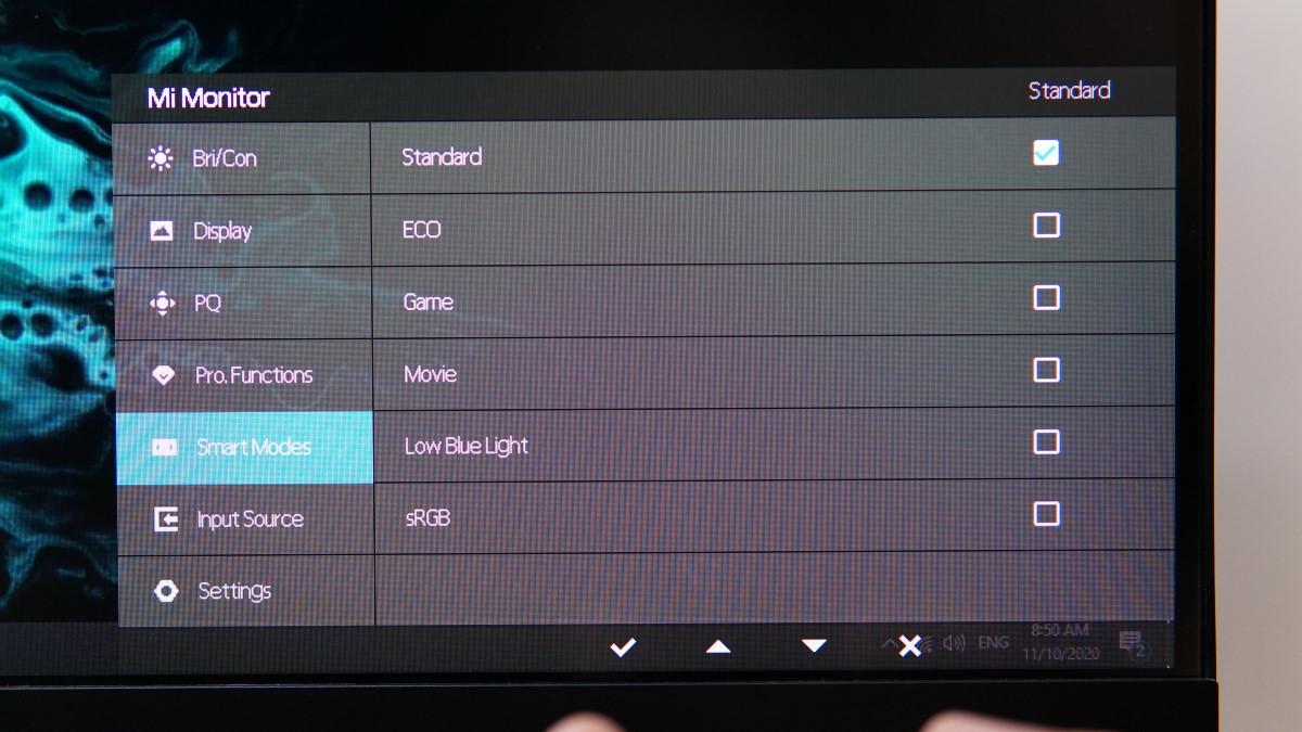 Xiaomi XMMNT27HQ OSD 13