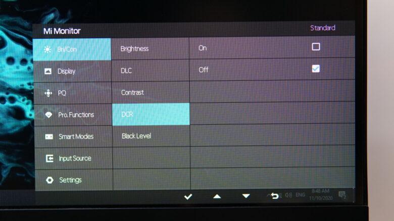 Xiaomi XMMNT27HQ OSD 3