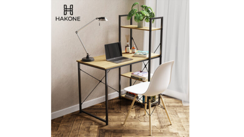 โต๊ะคอม ราคาถูก hakone 4 ชั้น