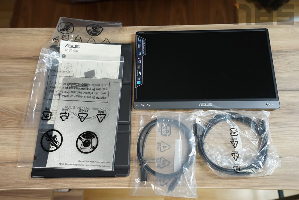 ASUS ZenScreen MB14AC 001
