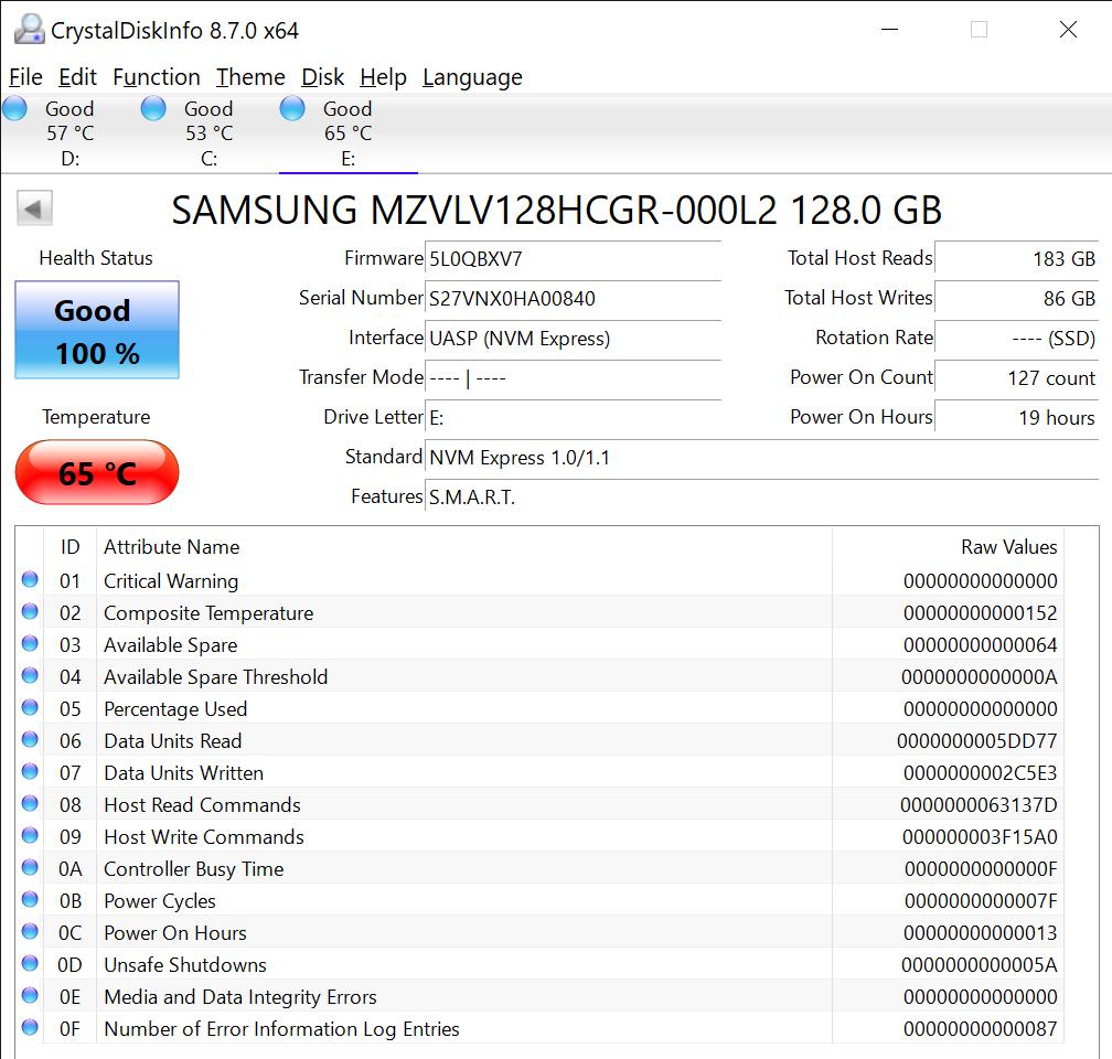 CrystalDiskInfo 8.7.0 x64 11 23 2020 3 43 23 PM