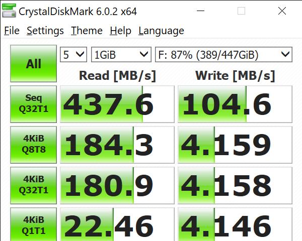 CrystalDiskMark 6.0.2 x64 11 23 2020 2 35 53 PM