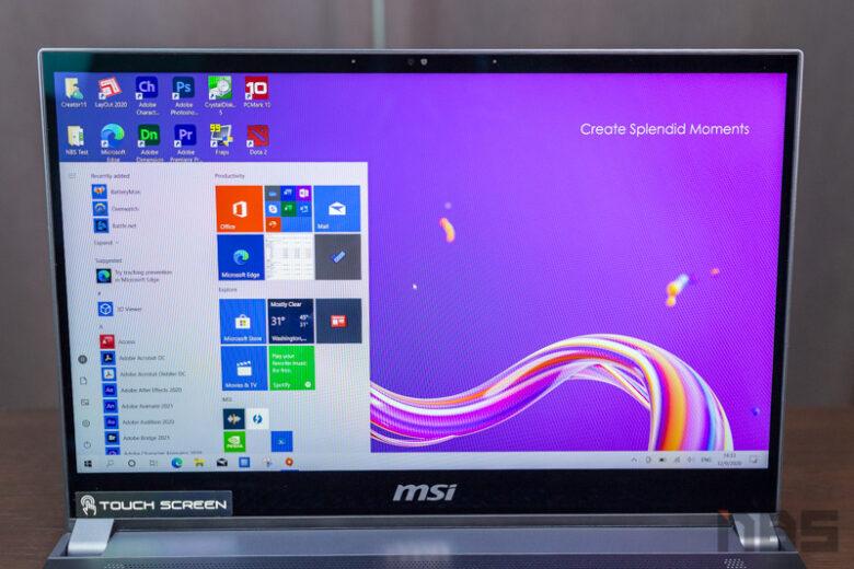 MSI Creator 15 i7 RTX2060 Review 14