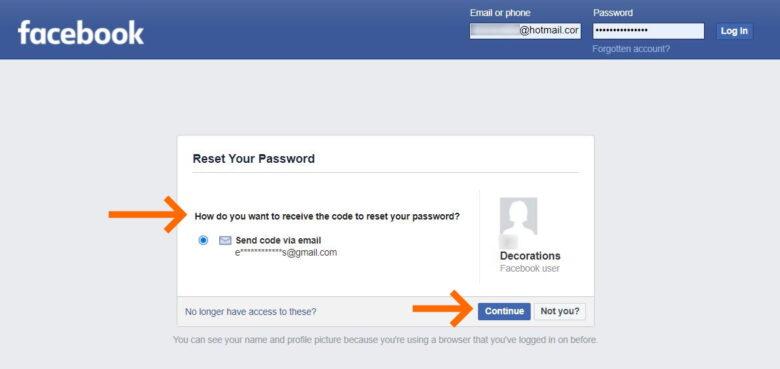 Solve hack facebook 6
