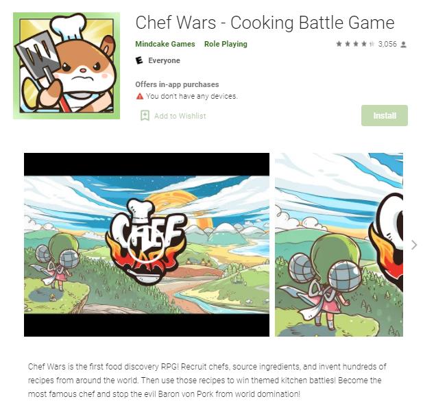 เกมทำอาหาร Chef Wars