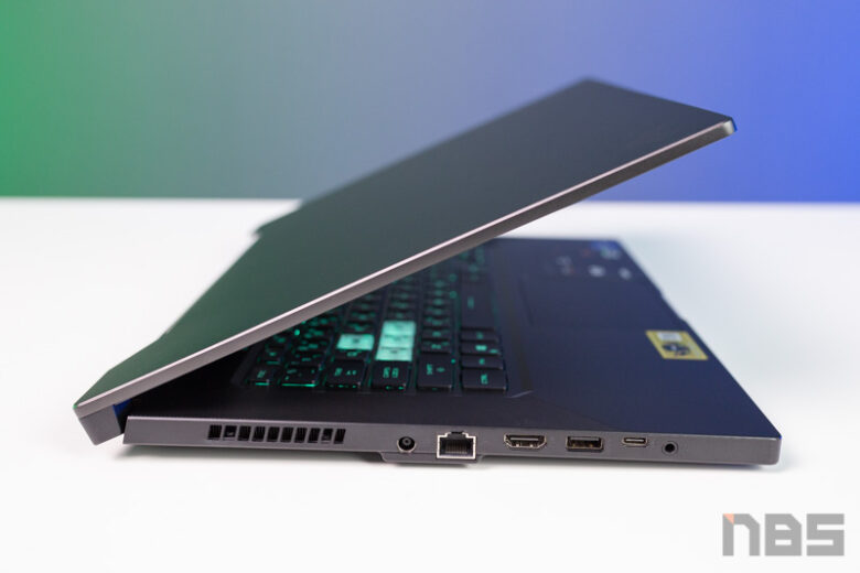 ASUS TUF Dash F15 i7 11 RTX 3070 Review 34