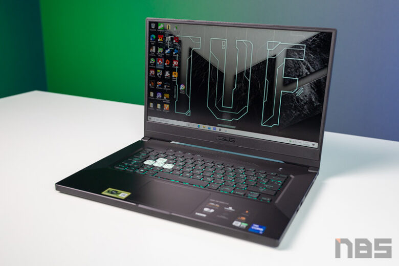 ASUS TUF Dash F15 i7 11 RTX 3070 Review 4