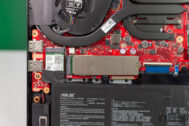 ASUS TUF Dash F15 i7 11 RTX 3070 Review 75