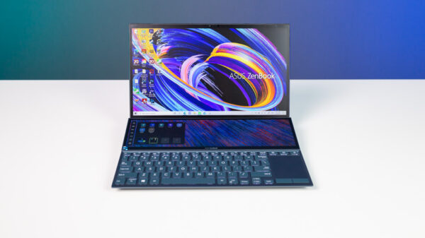 ASUS ZenBook Duo 14 UX482 Demo Top 1