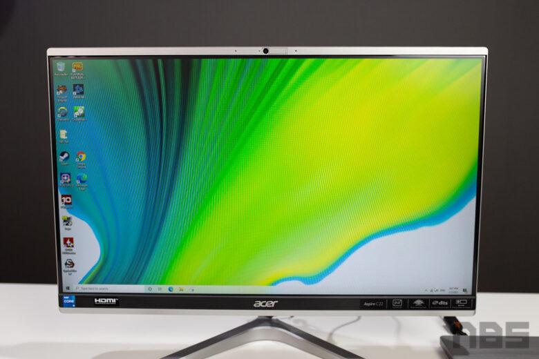 Acer Aspire C22 1650 AIO Review 6