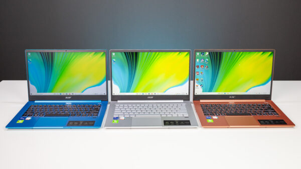 Acer Swift 3 i7 Gen 11 Top 1