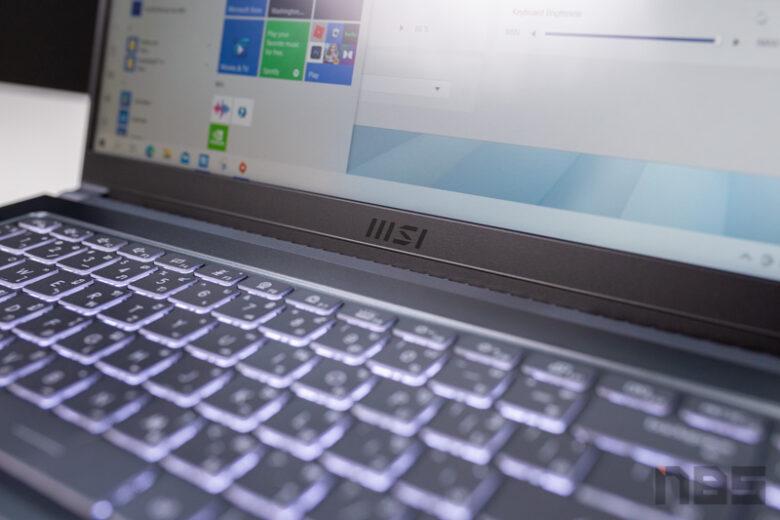 MSI Modern 15 i7 MX450 Review 8