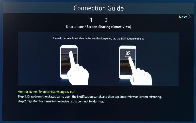 Samsung M7 series 68