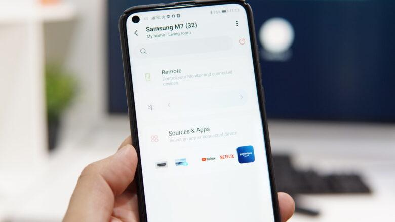 Samsung Smart Monitor M7 4