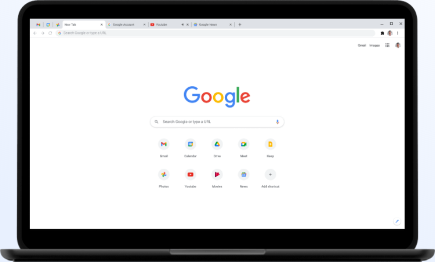 Google Chrome กินแรม