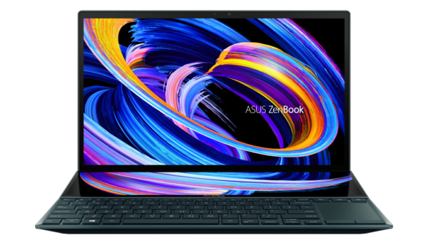 ZenBook Duo 14 UX482 Product photo 1A Celestial Blue 05 1 1 1