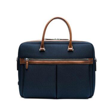 maverick co vibrant voyage briefcase navy 1