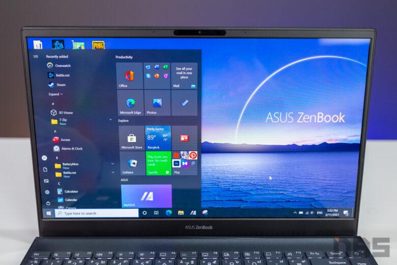 ASUS ZenBook UX325 Core i Gen 11 Review 7