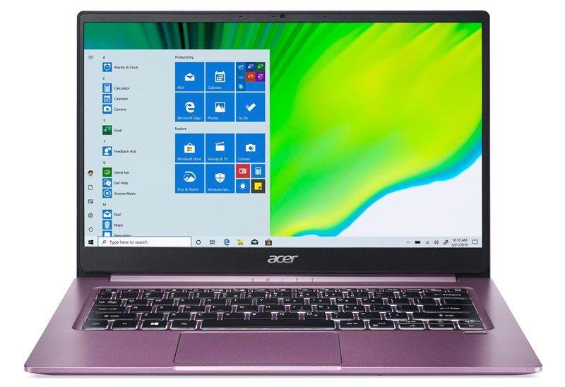 Acer Notebook SWIFT SF314 42 R18J Purple 1 1612898028 e1614221443119