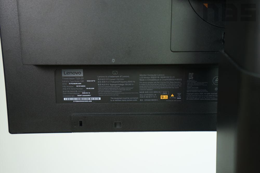 Lenovo ThinkVision T22i 20 023