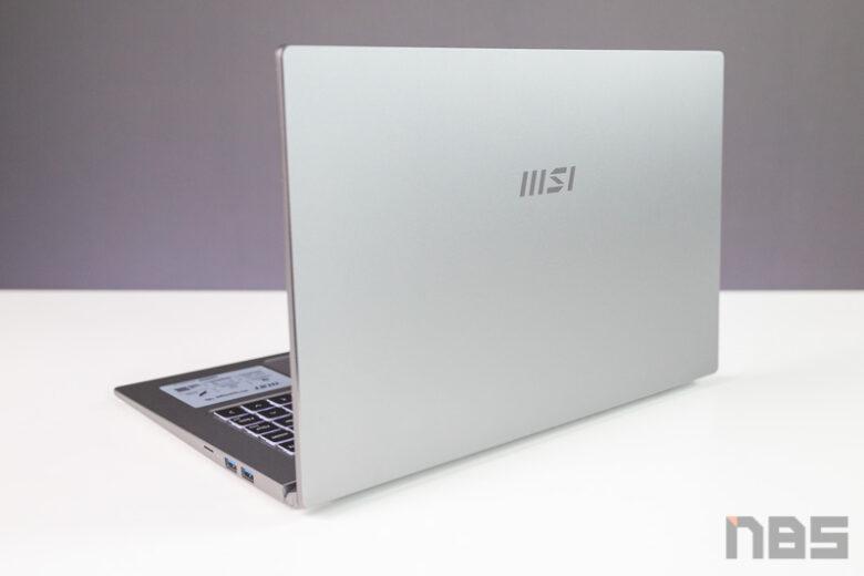 MSI Prestige 15 2021 i7 Gen11 Review 32