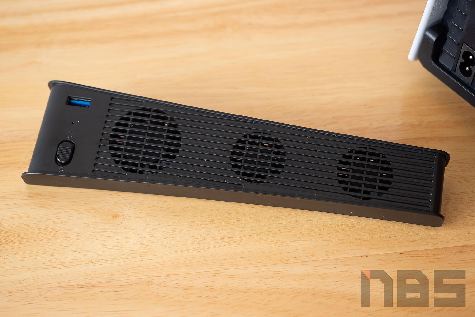 Review PS5 Fan NotebookSPEC 10