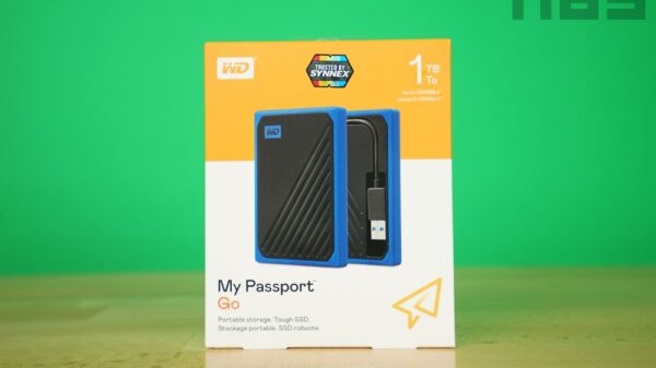 WD My passport GO 001
