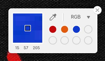 palette จุ่มสี