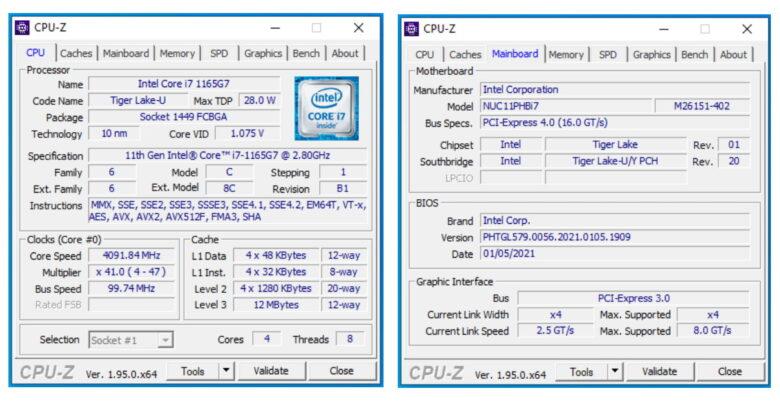 CPUz 1 1