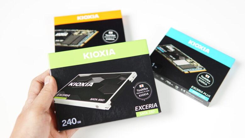 Unbox KIOXIA SSD 1