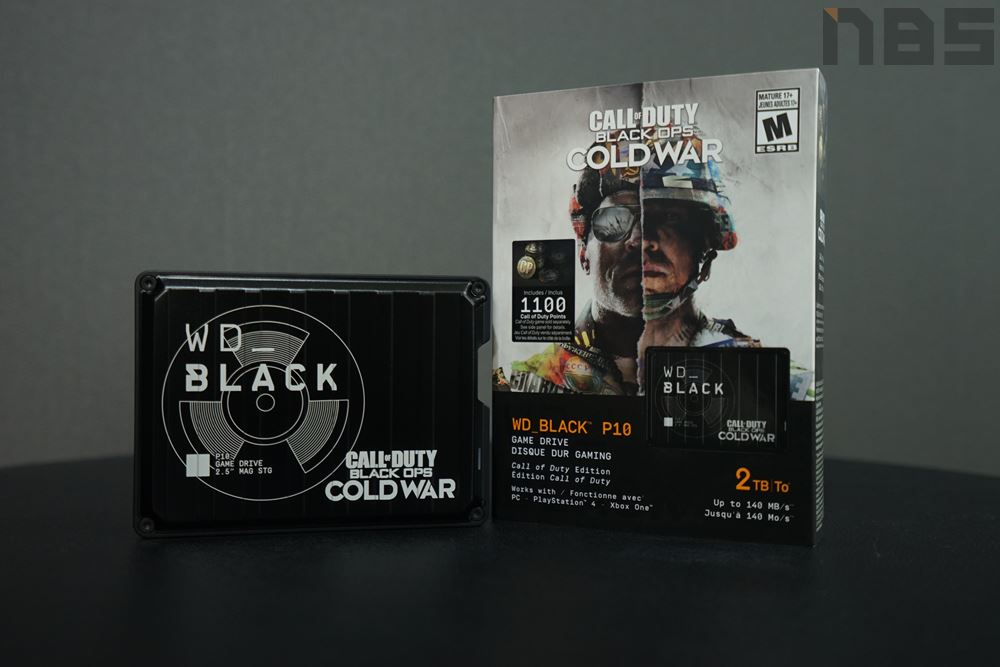 WD Black P10 Call of Duty Edition 20