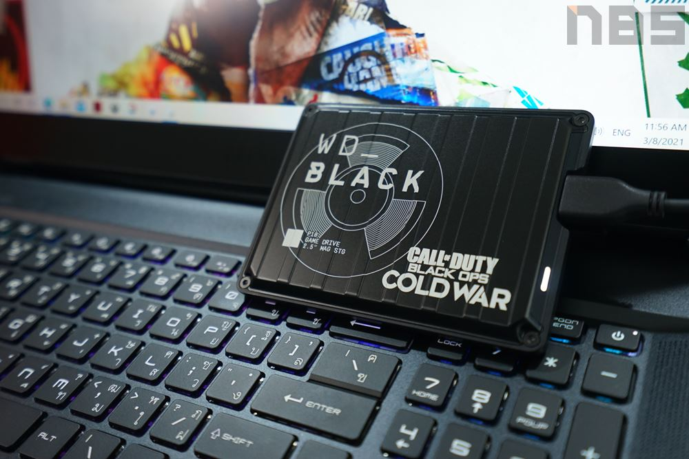 WD Black P10 Call of Duty Edition 32