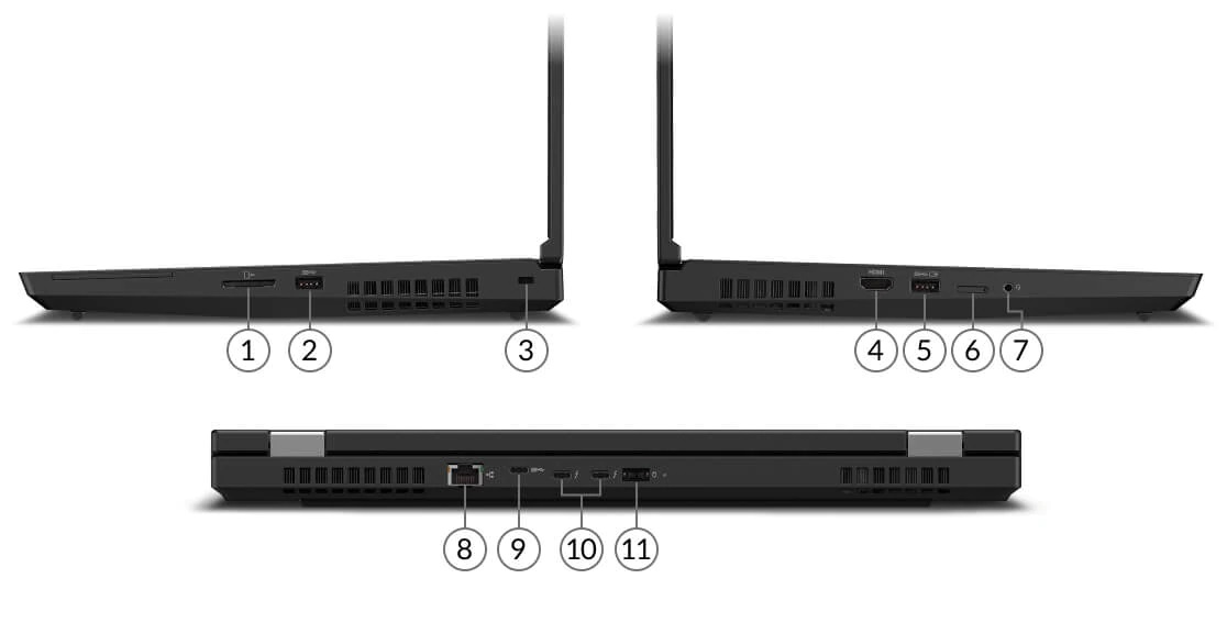 lenovo laptop workstation thinkpad p15 15 subseries ports