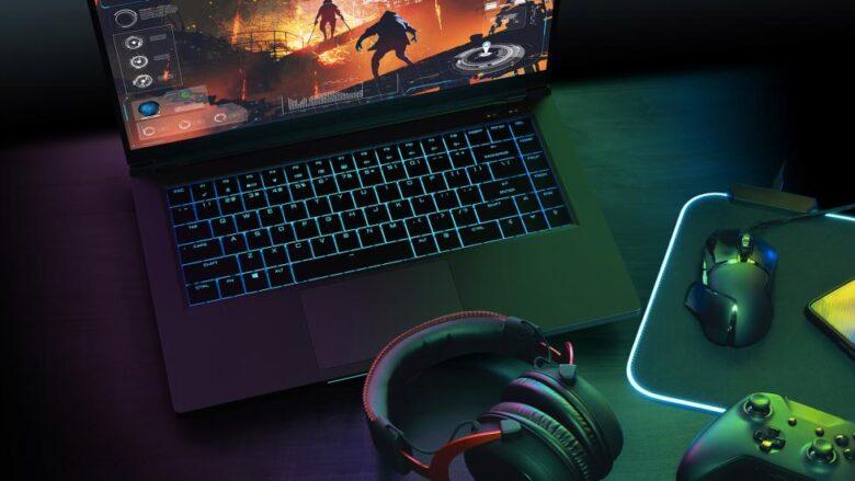 nuc 9 extreme laptop kit black with gamer geara rwd.jpg.rendition.intel .web .978.550