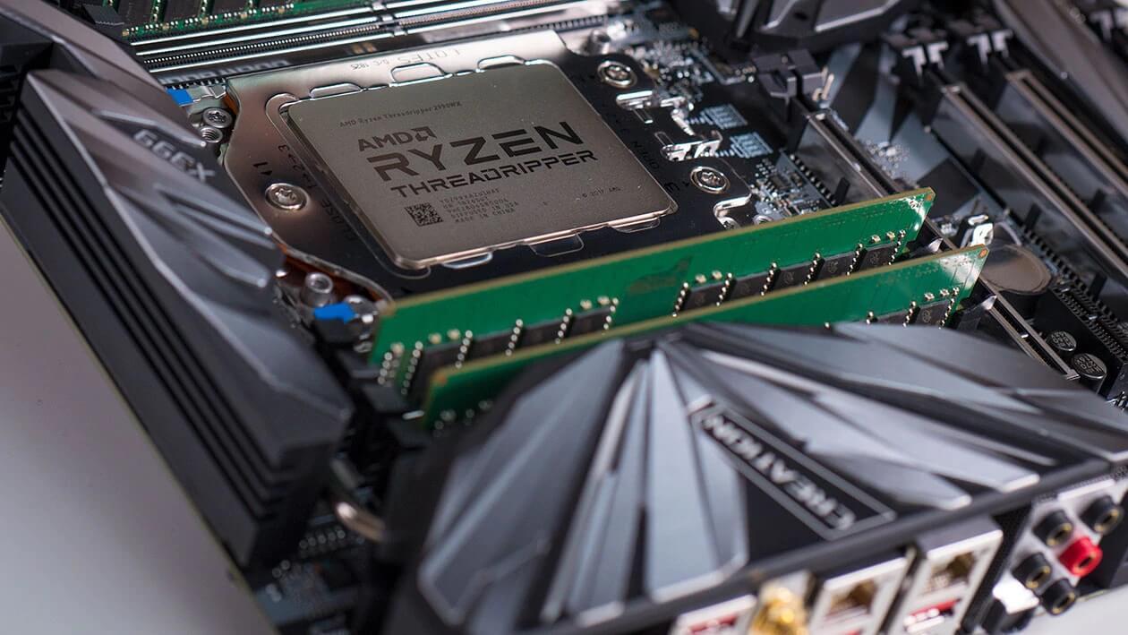 138886 ryzen threadripper motherboard closeup