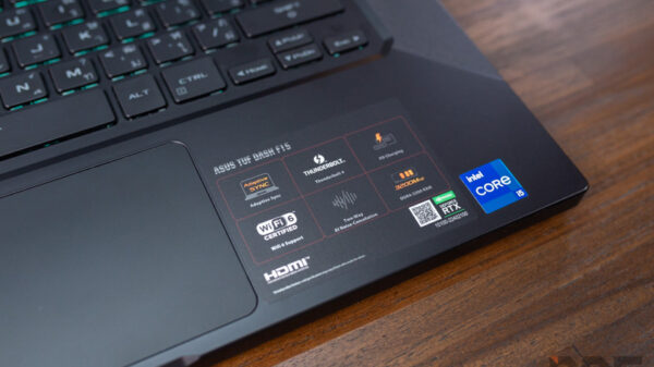 ASUS TUF Dash F15 FX516 i5 RTX3060 Review 19