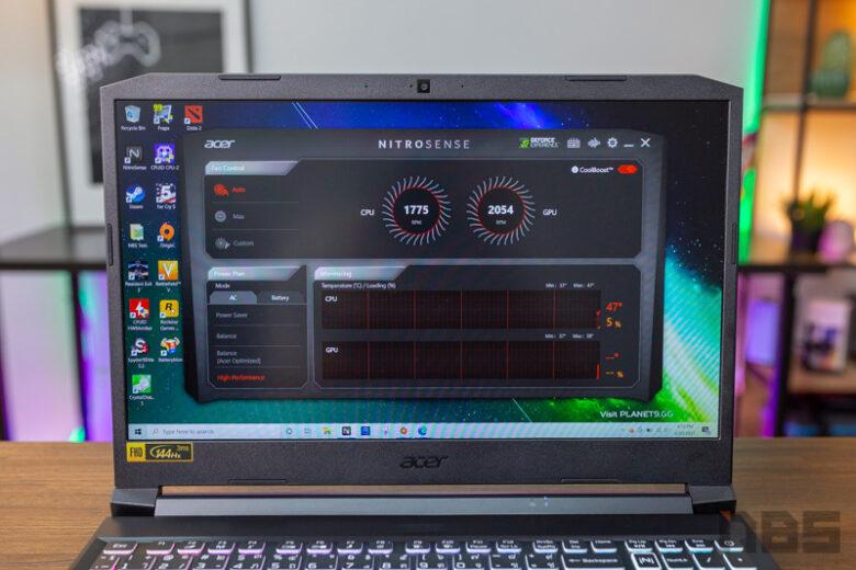Acer Nitro 5 R5600H GTX1650 Review 6