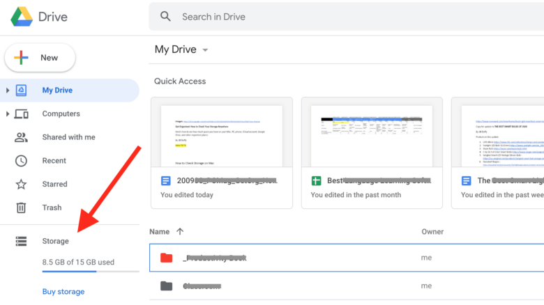 How to Check the Storage on Your Google Drive