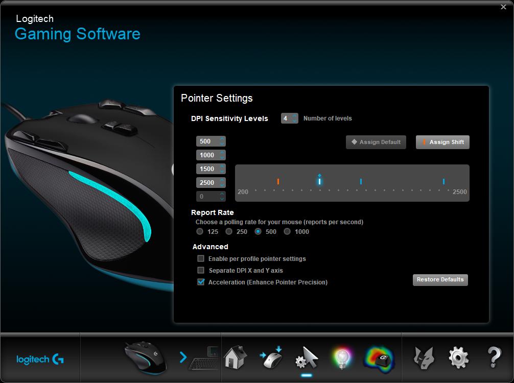 Logitech Gaming Software 4 28 2021 11 03 09 AM